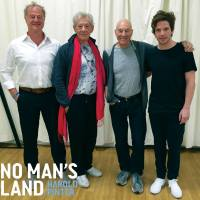 FIRST PHOTO! Damien Molony, Patrick Stewart, Ian McKellen and Owen Teale in 'NO MAN'S LAND' rehearsals
