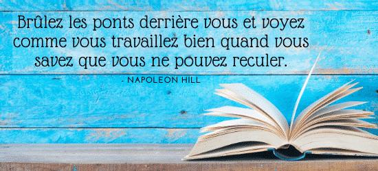 des livres pour changer de vie napoleon hill