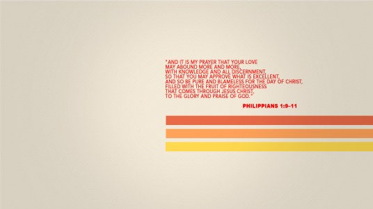 paul's prayer bible Philippians