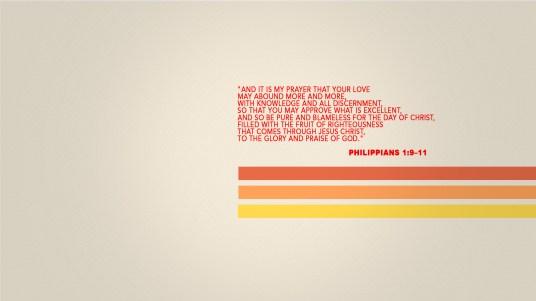 paul's prayer bible Philippians
