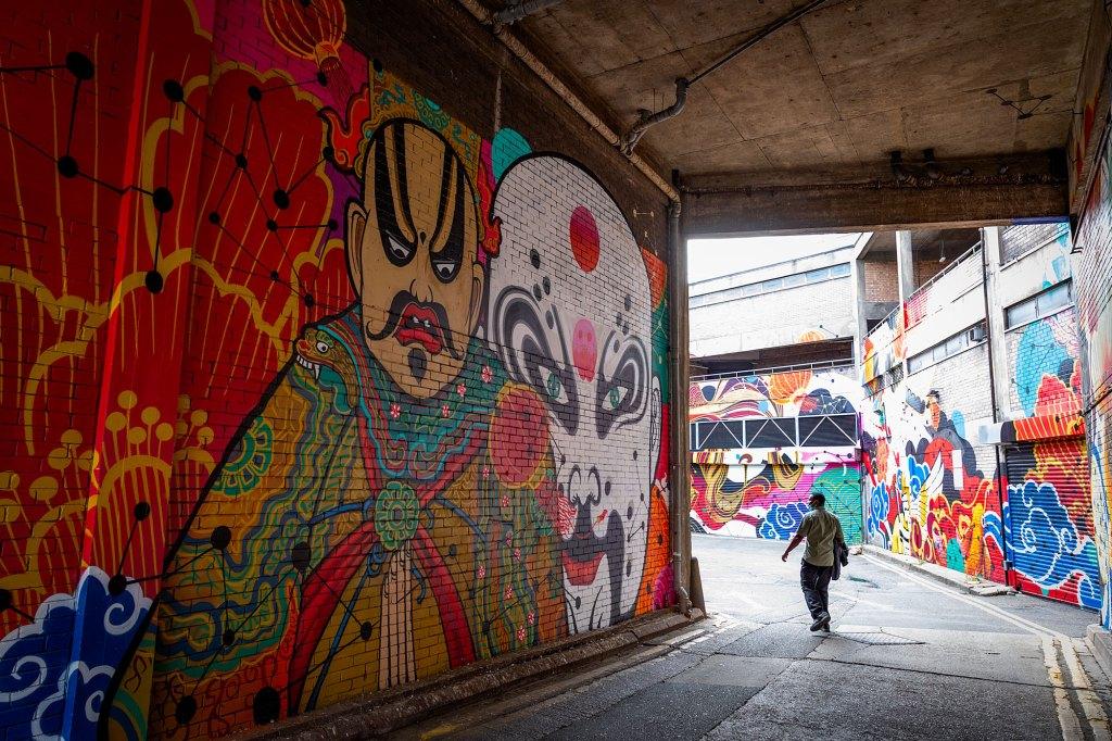 Bath Passage street art