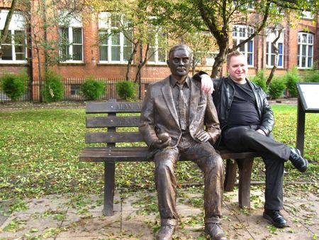 Turing-Denkmal in Manchester