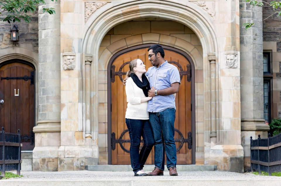 Sarah & Abrar: Discovery District Engagement