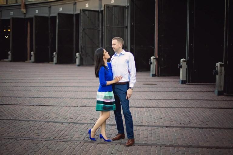 Kelly & Chris: Roundhouse Park Engagement Toronto Photographer