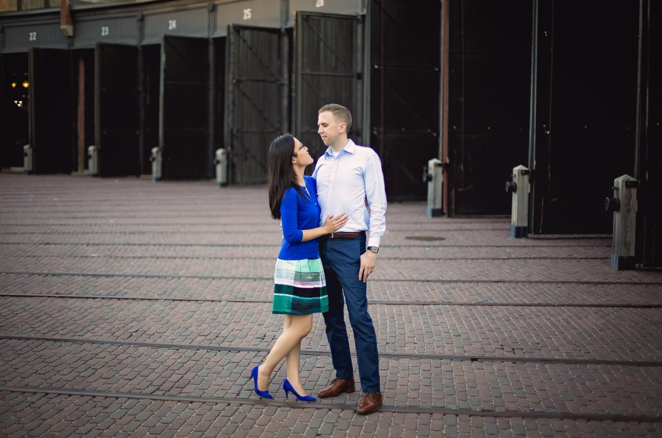 Kelly & Chris: Roundhouse Park Engagement
