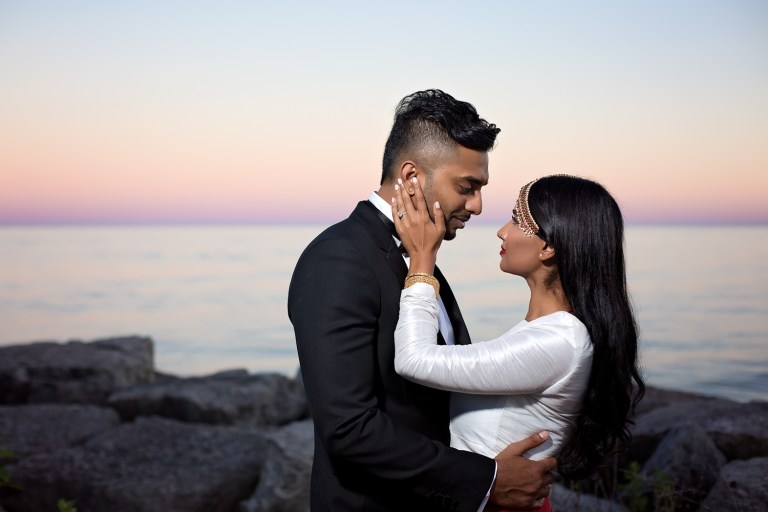 Narmi & Rajeev: Anniversary Shoot at Scarborough Bluffs Tamil Wedding Photographer South Asian