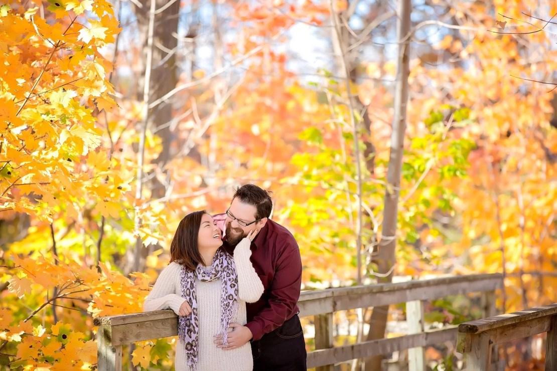 008 - Niagara County - Ontario - Stephanie & Branden- Balls Falls - Niagara Region Engagement