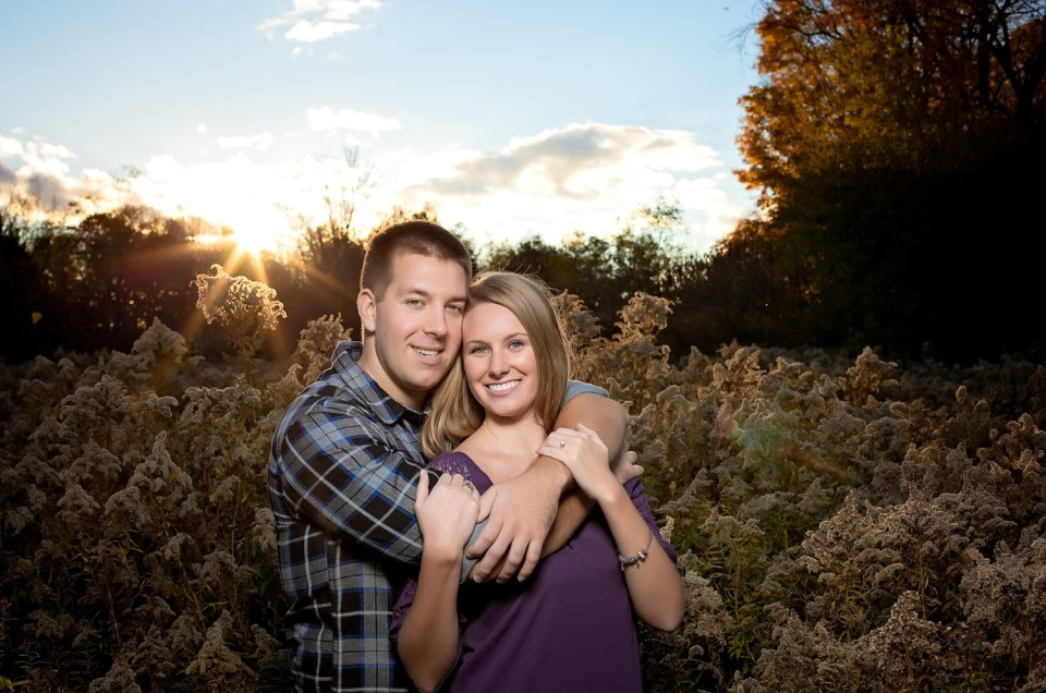 Emma & Blair   Spring Valley Trail Engagement   Ancaster