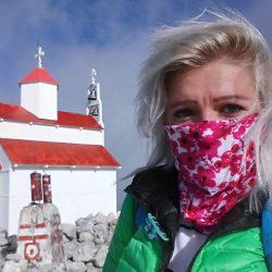 Za njom su Elbrus, Olimp, Monblan... pred njom Akonkagva, Himalaji... ali se Karolina Ilić najviše raduje Rumiji