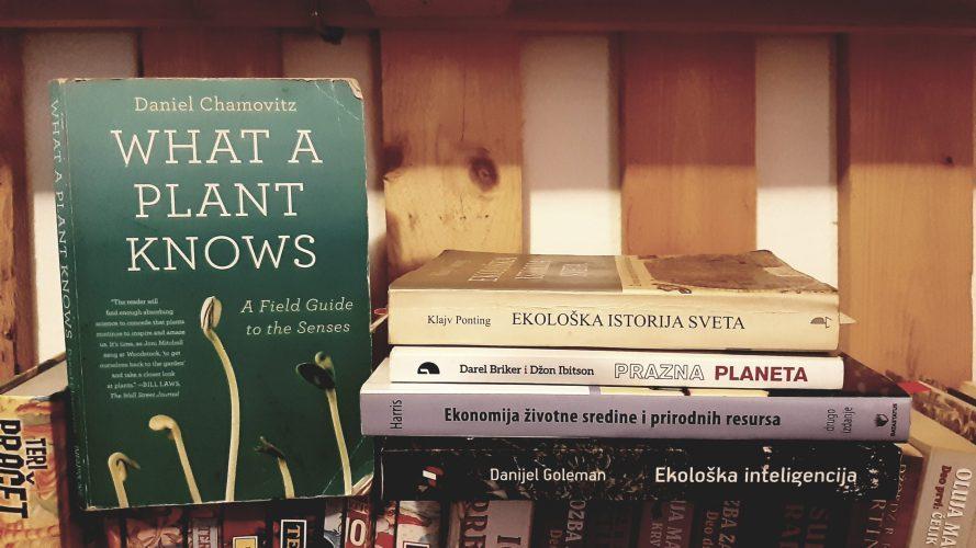 """""""Šta biljke znaju"""" i druge eko knjige koje nas uče o životnoj sredini i svijetu oko nas"""