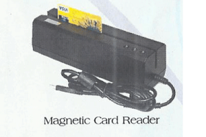magnetic-card reader from damitech solutions ltd