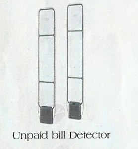 unpaid bill detector from Damitech Solutions LTD