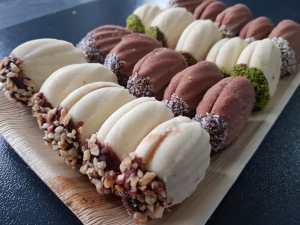 Süßgebäck Marmelade
