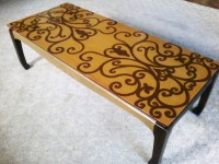 Hand Painted Coffee Table | damlovely