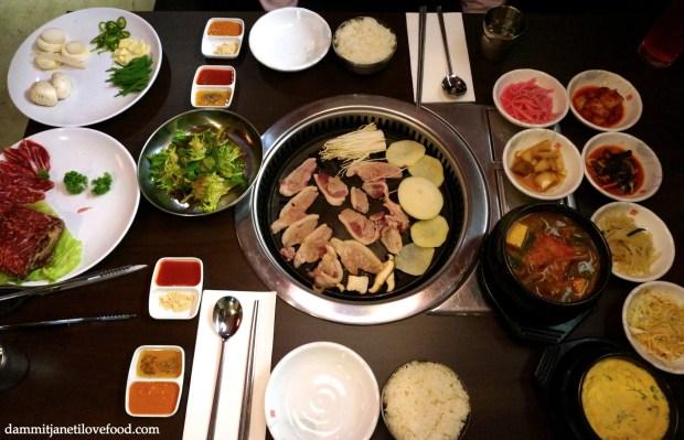 Oree Korean Duck Restaurant | DAMMIT JANET I LOVE FOOD