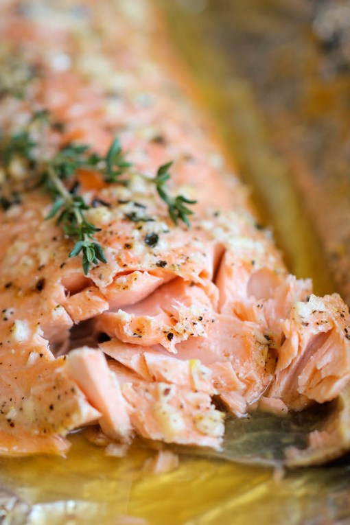 Gluten-Free Honey Salmon