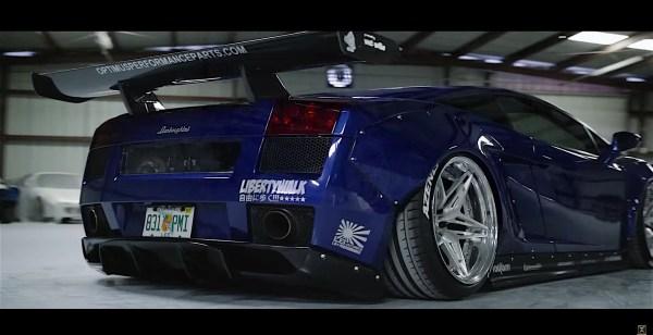 Lamborghini Gallardo Twin Turbo Fire Year Of Clean Water