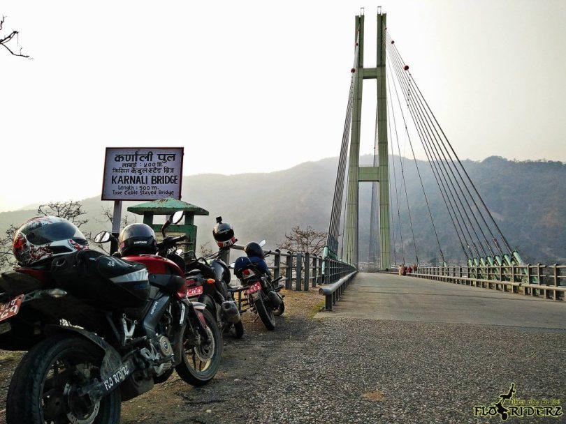 Karnali Bridge, Chisapani