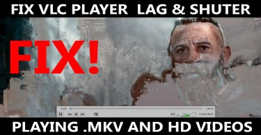 Fix VLC lag and shutter
