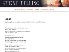 #003, our poem in ST: Body