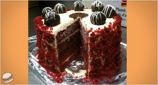 Homemade Red Velvet Cake Damn That Looks Good