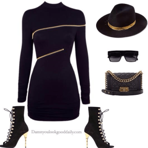 spring-outfit-ideas-black-dress