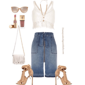 spring-outfit-ideas-denim-skirt