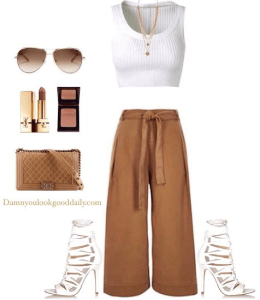 brown trousers wide-leg-pants-outfits-5