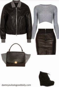 leather-skirt-outfit-ideas