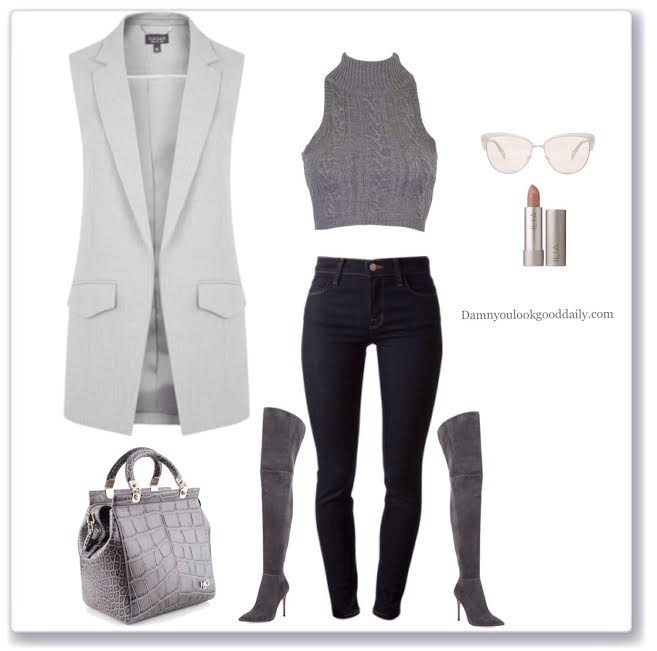 gray-thigh-high-boots-outfit-ideas