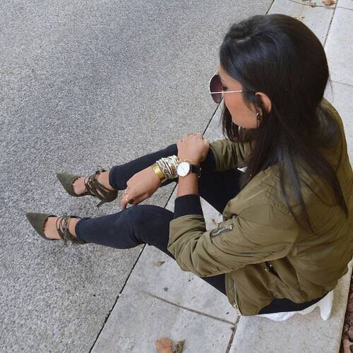 womens-green-bomber-jackets-outfit-ideas-fashion