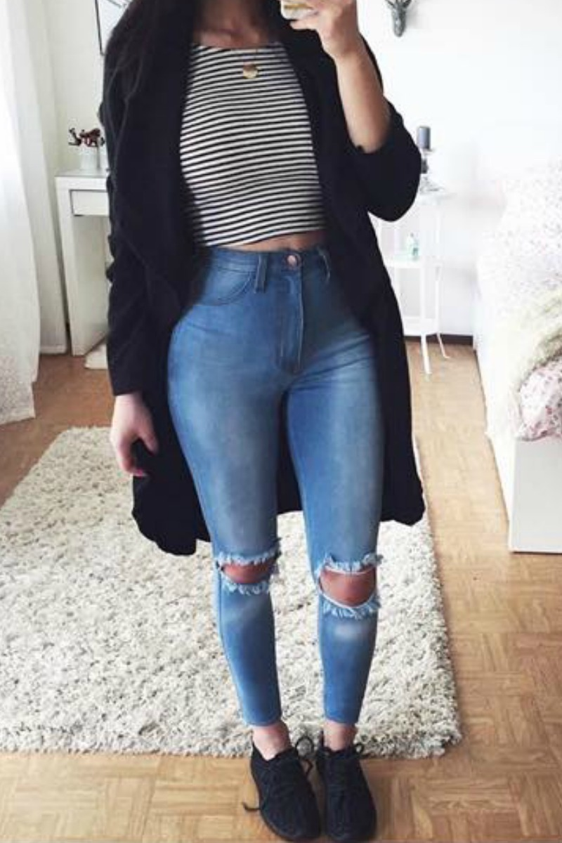 nice cute school outfits with jeans pictures