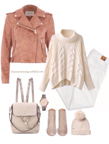 casual-fall-winter-outfit-suede-motorcycle-jacket-white-jeans-chloe-faye-backpack
