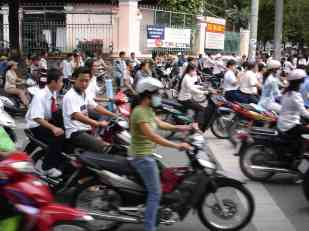 Chaos in Saigon