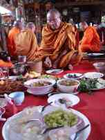 Fah's Buddhist feast