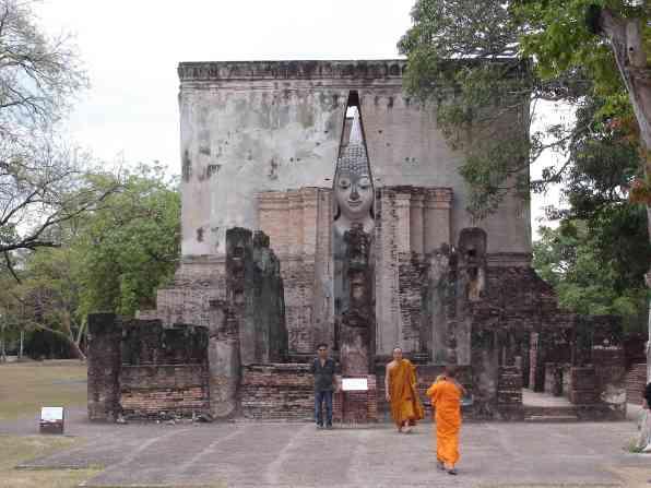 The ruins of Sukhothai