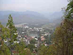 Overlooking Mae Hong Son