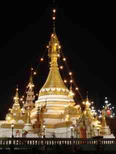 The majestic Wat Jong Kham