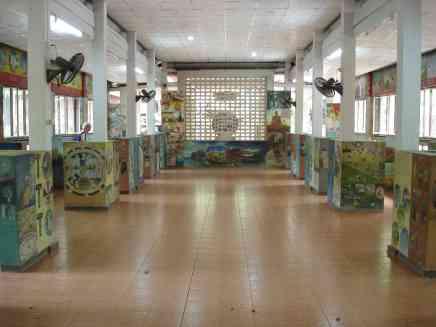The art gallery of Wat U-Mong