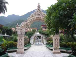 A garden in Rishikesh