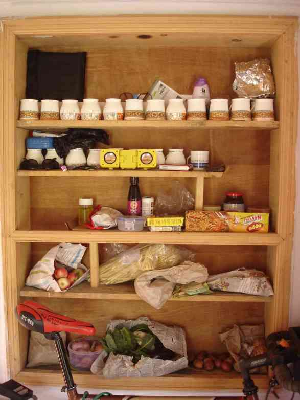 My 'pantry' in Leh