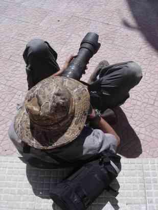 A dangerous poacher takes aim