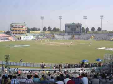 Oz v India at Mohali Stadium