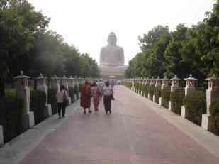 An enormous Buddha