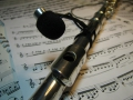 Flute microphone F-one