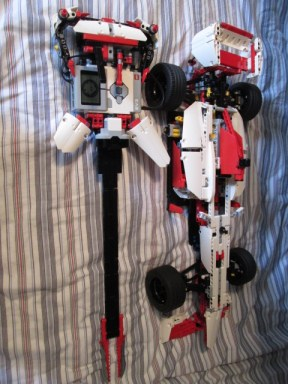myEL3CTRIC GUITAR and LEGO® Technic Grand Prix Racer