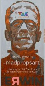 SwitchFlip presents MadPropsArt at venice Art Crawl (click to VAC)