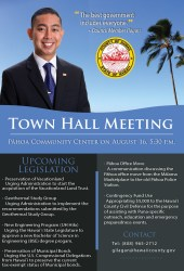 Friday Town Hall Meeting at the Pahoa Community Center Hawaii News and Island Information