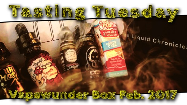Vapewunder Box Februar 2017