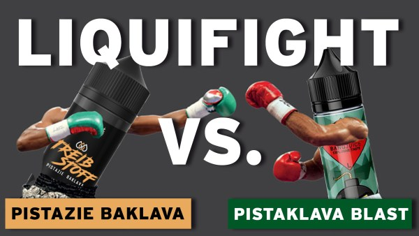 Pistazie Baklava vs. Pistaklava Blast